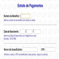 www previdencia gov br extrato de pagamento www inss gov br ministério da previdência social