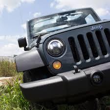 led lights for jeep wrangler j w speaker led headlights for jeep wrangler jk 2007 2017 0551131