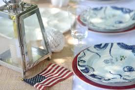 Nautical Table Decoration Ideas Iron U0026 Twine Memorial Day Nautical Table Setting
