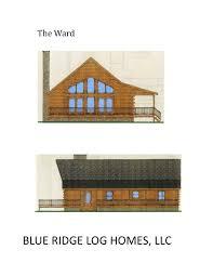 one story log homes blue ridge log homes 540 337 0033