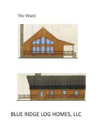 One Story Log Homes One Story Log Homes Blue Ridge Log Homes 540 337 0033