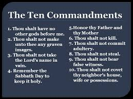 does god still want his followers to obey the ten commandments