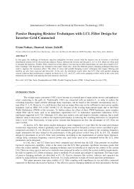 lcl si e passive ding resistor techniques with pdf available