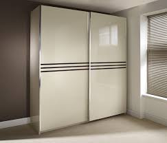 Bedroom Sets With Wardrobe Contemporary Beautiful Bedroom Set Design Feature Glossy Beige