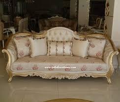 Single Armchair Bed Sofa Mewah Finishing Emas Sfk 006 Single Sofa Bed Single Sofa
