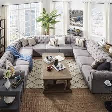 Best  U Shaped Sectional Ideas On Pinterest U Shaped - Family room sofa sets