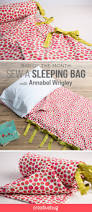 Duvet Sewing Pattern Learn How To Sew A Sleeping Bag Out Of A Duvet Cover Using Sewing
