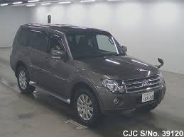 mitsubishi japan 2010 mitsubishi pajero brown for sale stock no 39120 japanese