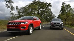 jeep india price list comparison jeep compass vs hyundai tucson vs tata hexa