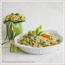 cuisiner celeri branche salade de boulgour au céleri abricots secs amandes et citron