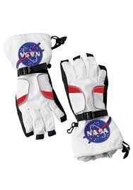 Toddler Astronaut Halloween Costume Kids White Astronaut Gloves