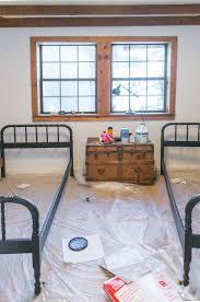 Antique Jenny Lind Twin Bed by Bedroom 6 Cottage House Flip Reveal Jenna Sue Design Blog