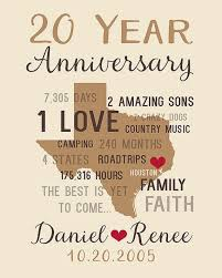 20th wedding anniversary gift 20th wedding anniversary gift hd images lovely anniversary ts for