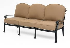 our la palma outdoor sofa goes great with any outdoor setting