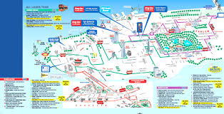 Map Central Park Manhattan Map Attractions Travel Maps And Major Tourist