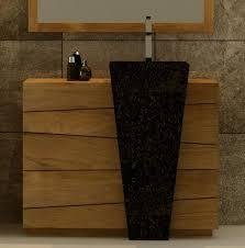 meuble de salle de bain original meuble de salle de bain vasque l100 en teck salle