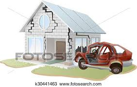 wrecked car clipart clipart of car crash car crashed into wall k30441463 search clip