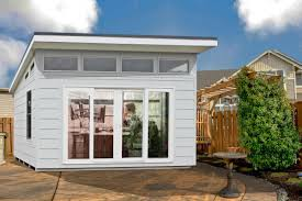 Office In A Shed Impress Your Clients With A Modern Home Office Shed