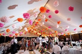 d coration mariage decoration mariage pompon décoration mariage tendance