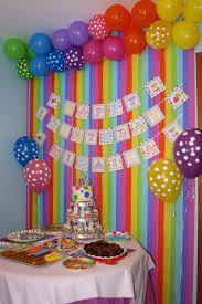 birthday decorations party wall decoration ideas search regarding birthday