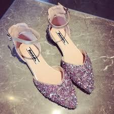 chaussures plates mariage aliexpress acheter 2017 nouvelles femmes de sandales plates