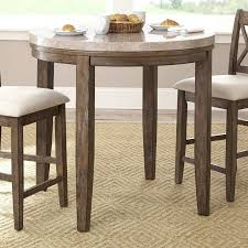 buy round marble top dining table with lazy susan 23716 gallery