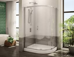 fleurco glass shower doors signature capri half round 3