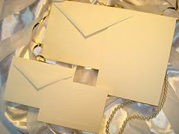 Do It Yourself Wedding Invitation Kits Amazon Com 50 Set Wedding Or Party Invitation Kit Blank With