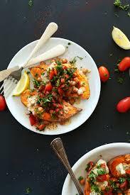 mediterranean baked sweet potatoes minimalist baker recipes
