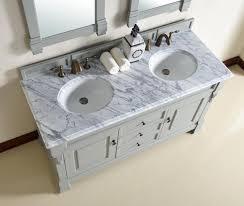 abstron 60 inch urban grey finish double traditional bathroom
