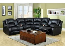 Leather Reclining Sofas And Loveseats by Sectional Reclining Sofa Sale England Novak Black Pearl Sleeper