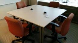 Knoll Propeller Conference Table Used Knoll Office Tables Furniturefinders