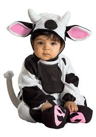 newborn costumes halloween infant cow costume