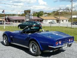1973 corvette convertible for sale 1973 blue corvette conv 1973 corvette for sale