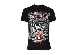 darkside clothing bathtub gin t shirt attitude clothing