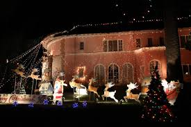 House Christmas Lights by Altadena Ca The Balian House And Christmas Tree Lane