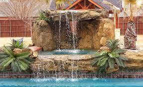 rock waterfalls for pools pool products waterfalls decorations universal rocks