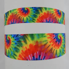 tie dye headband go girl headbands