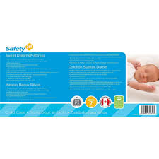 Standard Size Crib Mattress Dimensions by Safety 1st Sweet Dreams Baby And Toddler Crib Mattress Thermo