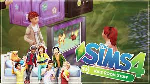 the sims 4 kids room stuff review first impression youtube