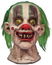 light up clown head halloween prop circus gone wrong theme