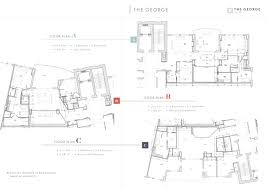 floor plans the george at 42
