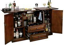 Folding Bar Cabinet Folding Home Bar Tables Ebay