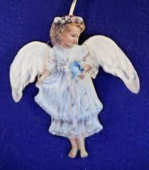 heavens gentle guardian ornament bradford 5 1 2 ebay