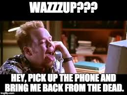 Scream Wazzup Meme - wazzup imgflip