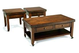 coffee table end table set living room coffee table sets croosle co