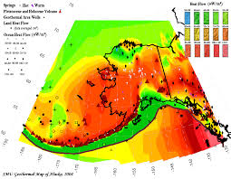 Alaska Temperature Map by Geothermal Energy Alaska Energy Wiki