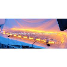 warning light bar amber china amber warning light bar 59 inch led bar for emergency