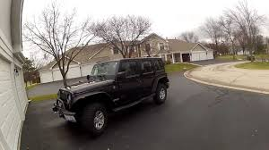 jeep wrangler slammed 2011 wrangler after accident these jeeps are strong youtube