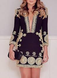 black and gold dress dress black gold trim middle eastern inspired